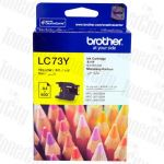 Brother LC-73Y Yellow High Yield Genuine Inkjet Cartridge