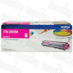 Brother TN-255M Magenta High Yield Genuine Toner Cartridge