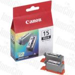 Canon BCI-15BK Black Genuine Inkjet Cartridge