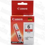 Canon BCI-6R Red Genuine Inkjet Cartridge