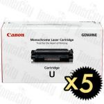Canon CART-U 5 Pack Genuine Toner Cartridge