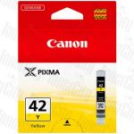 Canon CLI-42Y Yellow Genuine Inkjet Cartridge