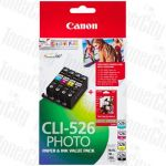 Canon CLI-526VP Value Pack Genuine Inkjet Cartridge