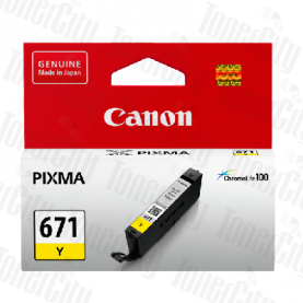 Canon CLI-671 Yellow Genuine Inkjet Cartridge