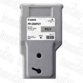 Canon PFI-206PGY Photo Grey Genuine Inkjet Cartridge