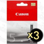 Canon PGI-5BK Black 3 Pack Genuine Inkjet Cartridge