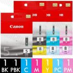Canon PGI-5 + CLI-8 (7 Pack) Genuine Inkjet Cartridge Combo