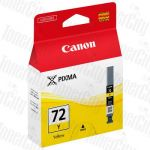 Canon PGI-72Y Yellow Genuine Inkjet Cartridge