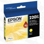 Epson 220XL (C13T294492) Yellow High Yield Genuine Inkjet Cartridge
