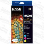 Epson 252XL (C13T253692) High Yield Value Pack Genuine Inkjet Cartridge