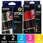 Epson 273XL High Yield 12 Pack Genuine Inkjet Cartridge Combo