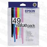 Epson T0491-T0496 (C13T049190VP) Value Pack Genuine Inkjet Cartridge