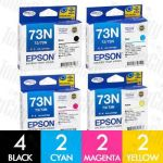 Epson 73N (C13T105192-C13T105492) 10 Pack Genuine Inkjet Cartridge Combo