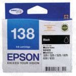 Epson 138 (C13T138192) Black High Yield Genuine Inkjet Cartridge