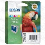 Epson T008 (C13T008091) Colour Genuine Inkjet Cartridge