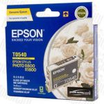 Epson T0540 (C13T054090) Gloss Optimizer Genuine Inkjet Cartridge