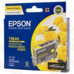 Epson T0544 (C13T054490) Yellow Genuine Inkjet Cartridge