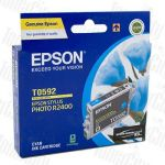Epson T0592 (C13T059290) Cyan Genuine Inkjet Cartridge