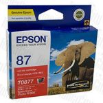 Epson 87 (C13T087790) Red Genuine Inkjet Cartridge