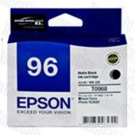 Epson 96 (C13T096890) Matte Black Genuine Inkjet Cartridge