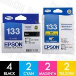 Epson 133 10 Pack Genuine Inkjet Cartridge Combo