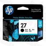 HP 27 (C8727AA) Black Genuine Inkjet Cartridge