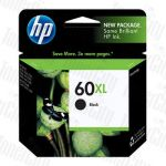 HP 60XL (CC641WA) Black High Yield Genuine Inkjet Cartridge