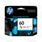 HP 60 (CC643WA) Colour Genuine Inkjet Cartridge