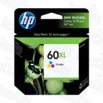 HP 60XL (CC644WA) Colour High Yield Genuine Inkjet Cartridge