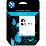 HP 82 (CH565A) Black Genuine Inkjet Cartridge