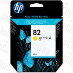 HP 82 (C4913A) Yellow Genuine Inkjet Cartridge