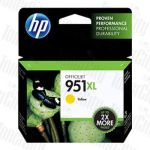 HP 951XL (CN048AA) Yellow High Yield Genuine Inkjet Cartridge