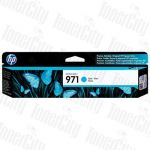 HP 971 (CN622AA) Cyan Genuine Inkjet Cartridge