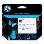 HP 91 (C9463A) Photo Black and Light Grey Genuine Printhead