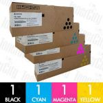 Kyocera TK-154 4 Pack Genuine Toner Cartridge Combo