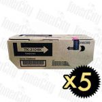 Kyocera TK-3104 5 Pack Genuine Toner Cartridge