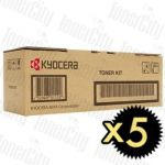 Kyocera TK-3174 (P3050DN) Black 5 Pack Genuine Toner Kit