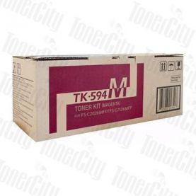 Kyocera TK-594M Magenta Genuine Toner Cartridge