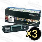Lexmark X203A11G (X203N/X204N) 3 Pack Genuine Toner Cartridge