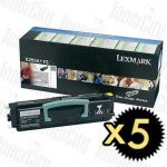 Lexmark X203A11G (X203N/X204N) 5 Pack Genuine Toner Cartridge