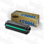 Samsung CLT-C506L Cyan Genuine Toner Cartridge