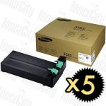 Samsung MLT-D358S Black 5 Pack Genuine Toner Cartridge
