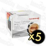 Fuji Xerox CT201610 (DocuPrint P205/M205/M215) High Yield 5 Pack Genuine Toner Cartridge