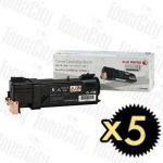 Fuji Xerox CT201632 (DocuPrint CM305/CP305) Black 5 Pack Genuine Toner Cartridge
