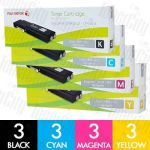 Fuji Xerox CT202033-CT202036 (DocuPrint CM405DF/CP405D) 12 Pack Genuine Toner Cartridge Combo