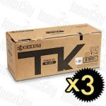 Kyocera TK-5274K Black 3 Pack Genuine Toner Cartridge