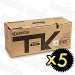 Kyocera TK-5274K Black 5 Pack Genuine Toner Cartridge
