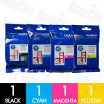 Brother LC-3319XL High Yield 4 Pack Genuine Inkjet Cartridges Combo
