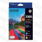 Epson 220XL (C13T294692) Value Pack Genuine Inkjet Cartridge