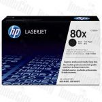 HP 80X (CF280X) Black High Yield Genuine Toner Cartridge